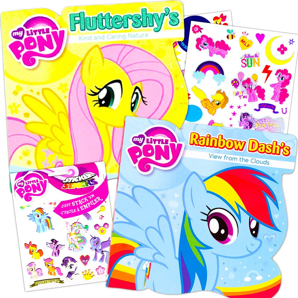 Disney Baby Toddler Board Books Set of 2 My Little Pony Board Books