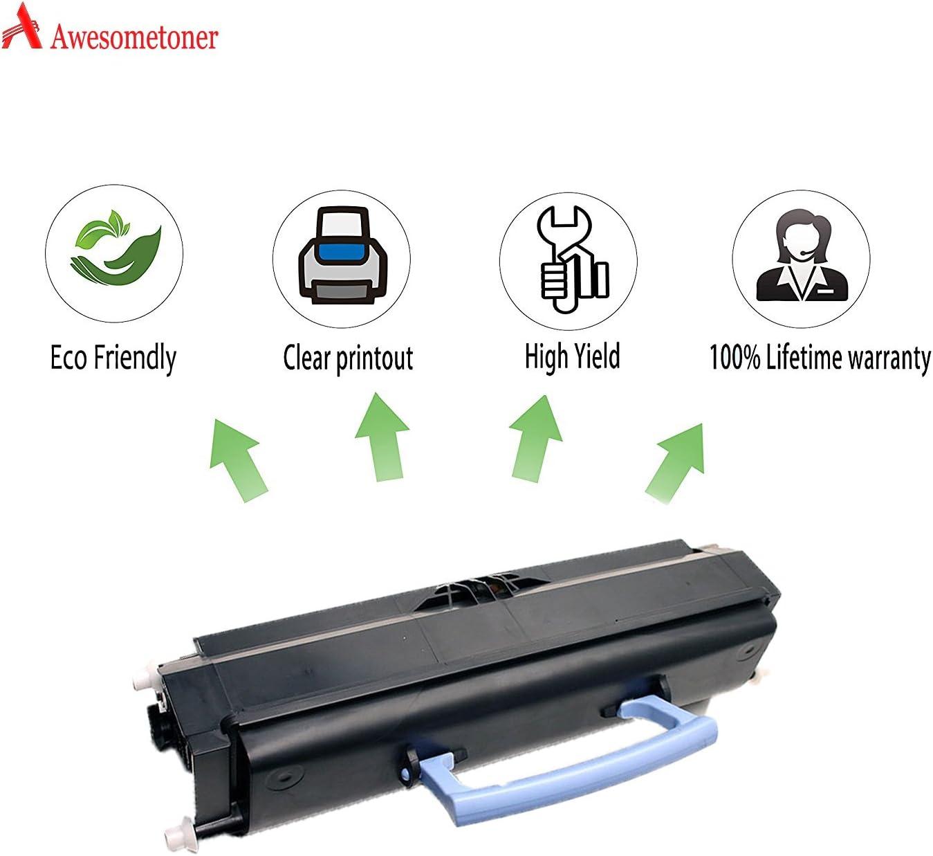 E232 E234n E234 Black, 5-Pack E232t Awesometoner/Remanufactured/Made in USA Toner/Cartridge/Replacement/for/Lexmark 12A8305 E330 use/with/E230 E234tn