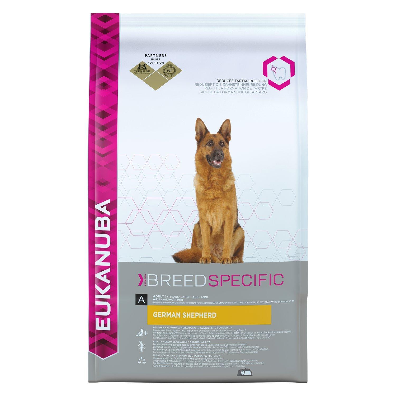 Eukanuba Breed Nutrition German Shepherd Dry Mix, 12 kg: Amazon.co.uk: Pet  Supplies
