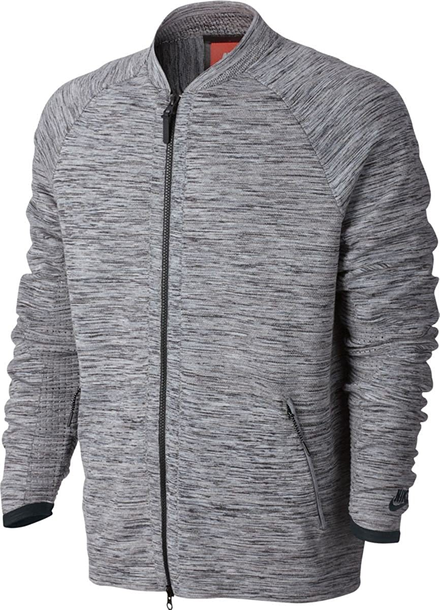 cc02ef62e9ecb NIKE Sportswear Tech Knit Men s Jacket at Amazon Men s Clothing store