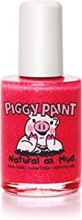 product image for Piggy Paint 100% Non-toxic Girls Nail Polish, Safe, Chemical Free, Low Odor for Kids - 0.5 Fluid Ounce - Pom Pom Party - Great Stocking Stuffer for Kids