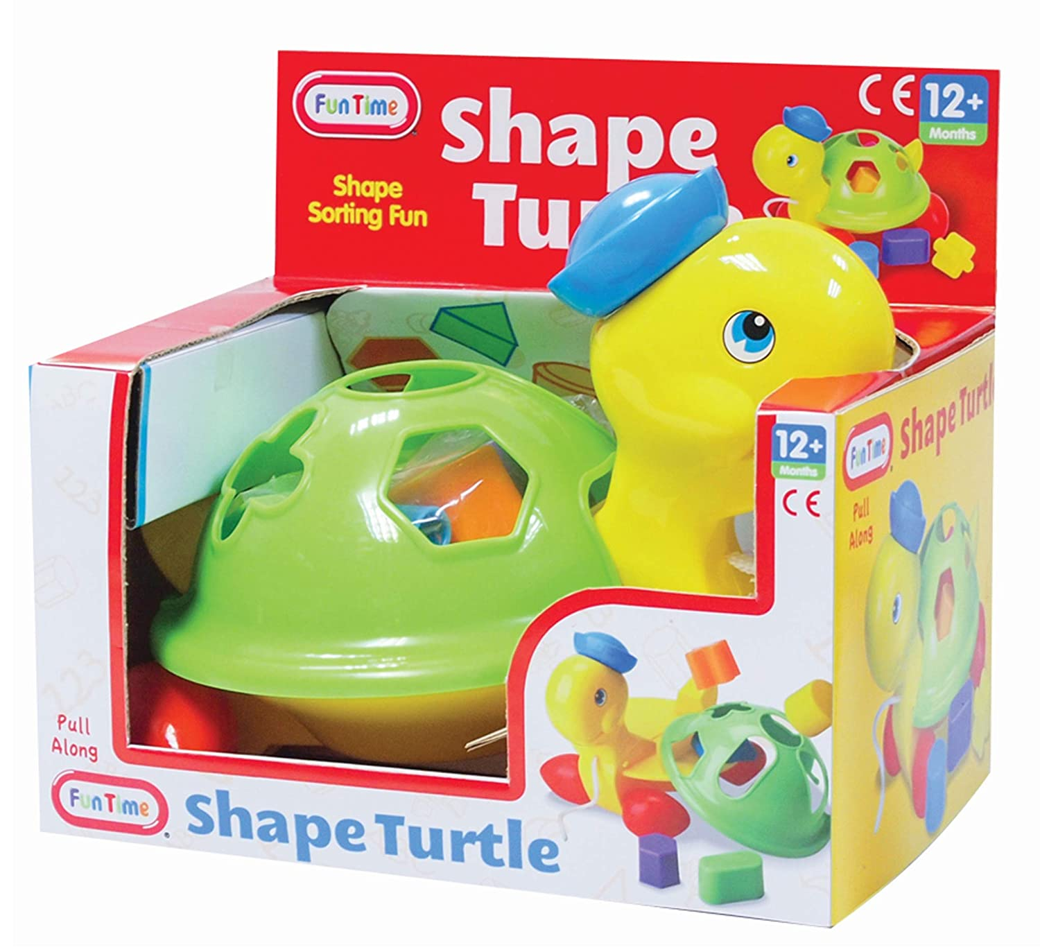 Fun Time Toby The Turtle Activity Toy Kids Baby Toddler New