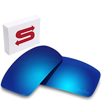 cbc2b0ccec ICE BLUE Oakley Gascan Lenses POLARIZED by Lens Swap. GREAT QUALITY   FITS  PERFECTLY.