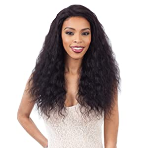Naked Nature Unprocessed Remy Human Hair Wet & Wavy Lace Front Wig - LOOSE DEEP