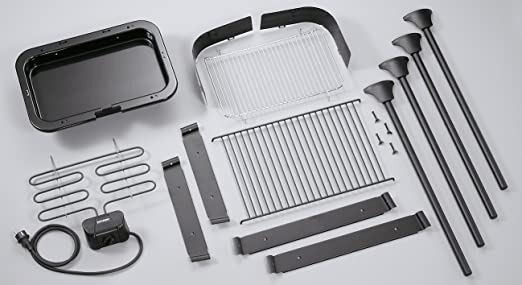 Severin Elektrogrill Abdeckung : Severin pg barbecue grill w standgrill grillfläche