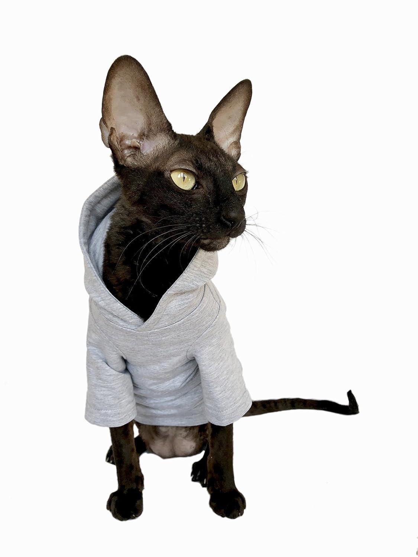 Kotomoda Abbigliamento per Gatti Hoodie a La Casa (S)