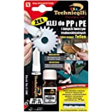 CLEAR ADHESIVE GLUE SUPER GEL FOR PP Polypropylene, PE Polyethylene, PTFE, Silicone NEW