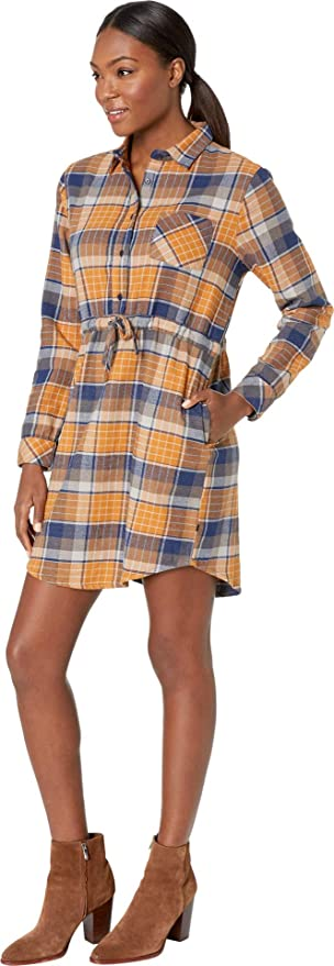 e0210935eb United By Blue Womens Moraine Flannel Dress at Amazon Women s Clothing  store