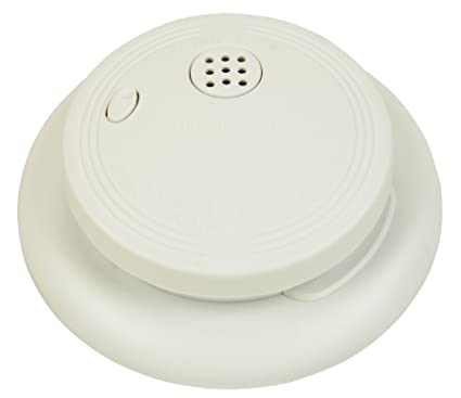 Universal Security Instruments SS-770-LR 9-volt Battery Ionization Smoke and Fire Alarm with Large Ring Mounting Bracket - Smoke Detectors - Amazon.com