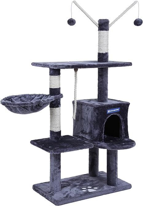 Amazon.com: feandrea - Rascador para árbol de gato (52.8 in ...