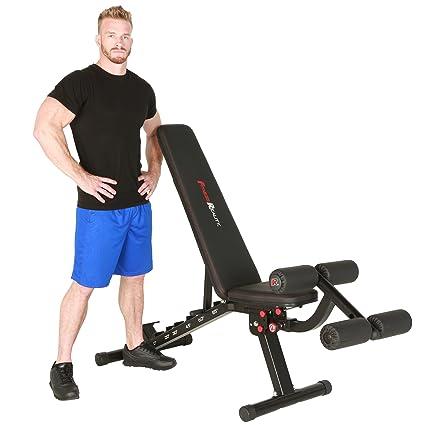 Fitness Reality 2000 Super Max XL Banco de pesas de alta capacidad con patas desmontables