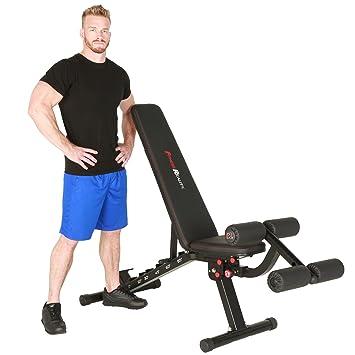 belastbar bis 363kg Fitness Reality 1000 Super Max Hantelbank mit 12 verstellbaren Positionen
