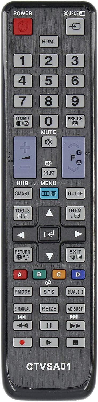 Common TV CTVSA01 Mando a Distancia Universal para Control Remoto de televisores Samsung, sin configuración, ergonómico: Amazon.es: Electrónica