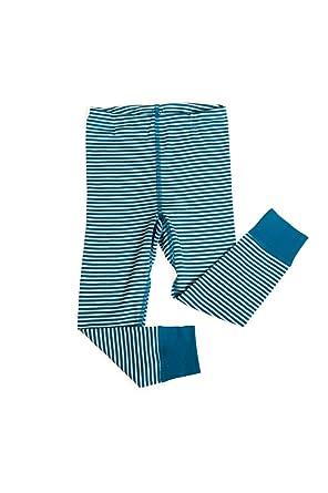 Amazon.com: Little Girls Organic Wool-Silk Long-Underwear Pants ...