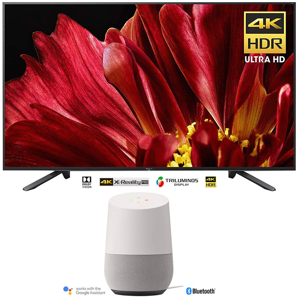 "Sony XBR-75Z9F 75"" 4K Ultra HD Smart BRAVIA LED TV (2018) with Google Home Smart Speaker w/Google Assistant"