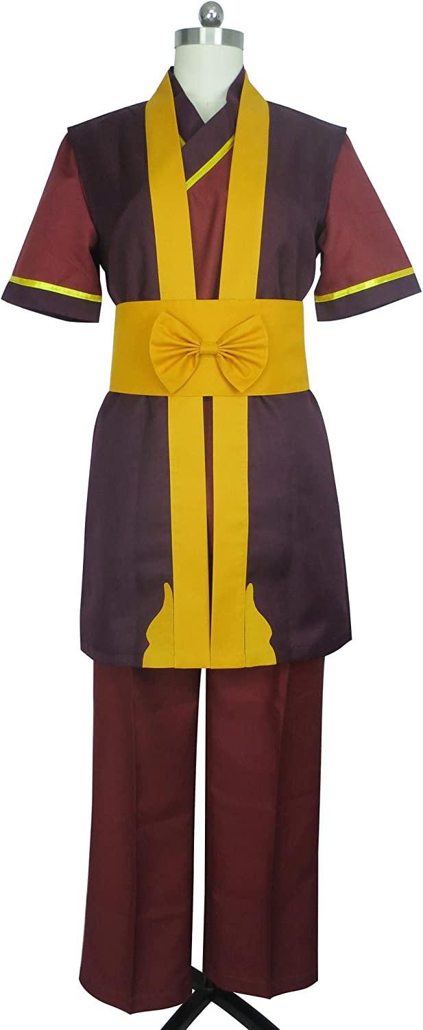 Fire Nation Royal Family Fire Lord Zuko Uniform Outfit Cosplay Costume