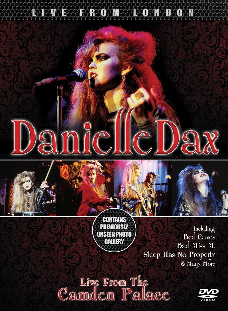 DVD : Danielle Dax - Live From The Camden Palace (Digipack Packaging)