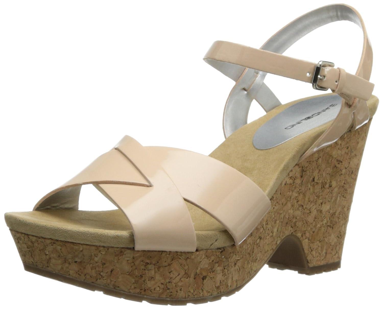 Bandolino Women's Dreamaker Wedge Sandal B00J7KPPMM 8 B(M) US|Light Pink