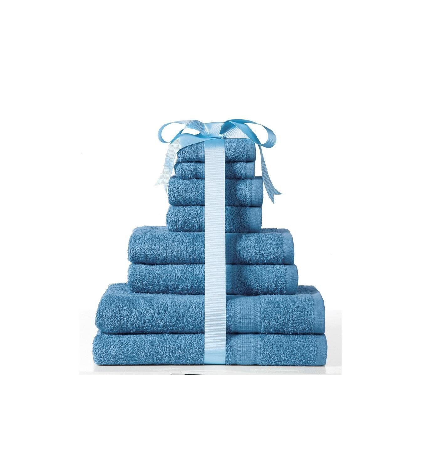 Kingsley 8-Piece Towel Bale (Teal) .