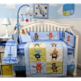 SoHo Mechanical Heros Baby Crib Nursery Bedding Set 14 pcs