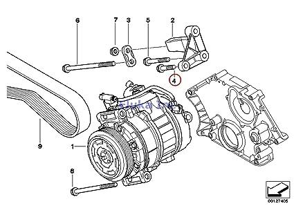 Amazon 3 X BMW Genuine Belt Clutch Engine Suspension Bolt With. 3 X BMW Genuine Belt Clutch Engine Suspension Bolt With Washer M8x30znniv Si 318i. BMW. Belt Diagram 99 BMW 323ci At Scoala.co