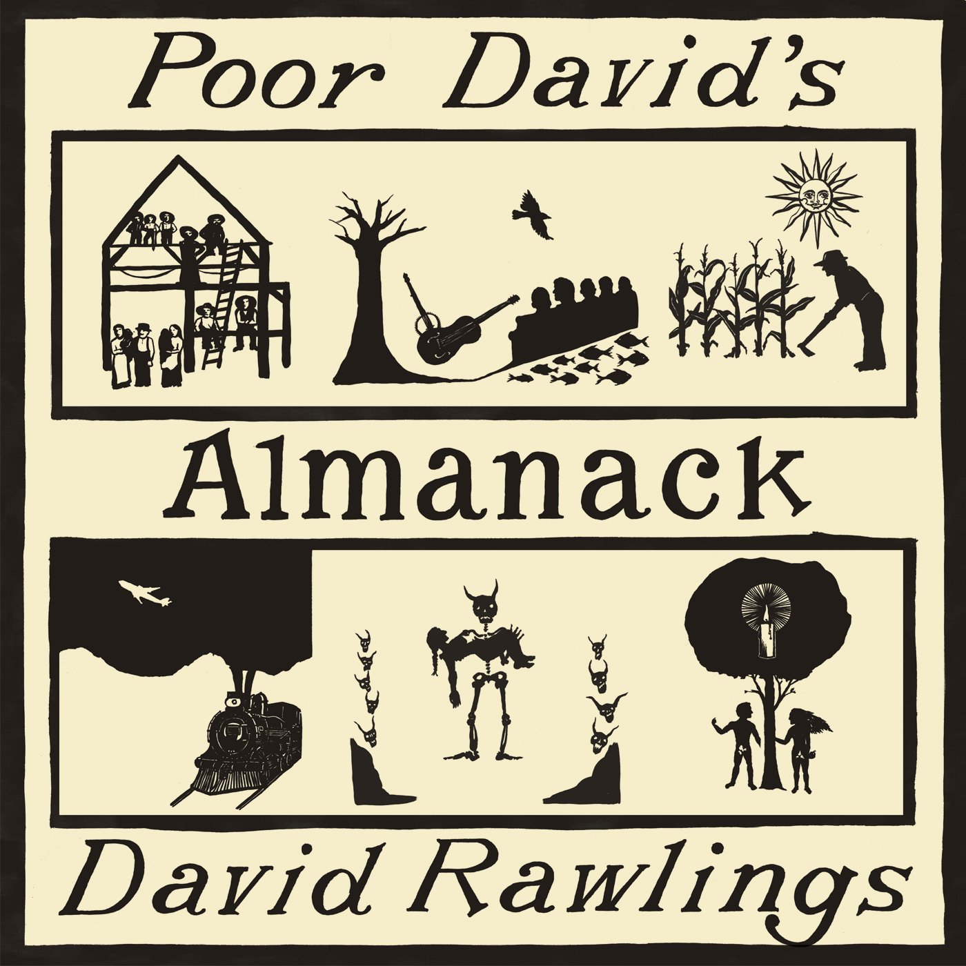 "Image result for David Rawlings ""Poor David's Almanack"