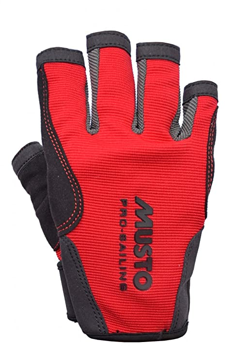 Bootsport Handschuhe Dry Fashion Leder Segelhandschuhe 5 Finger frei Wassersport Regatta Gloves