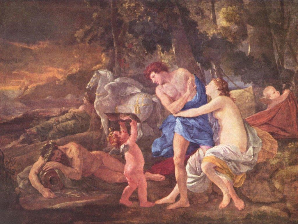 Lais Puzzle Nicolas Poussin - Cefalo e Aurora 2000 Pezzi