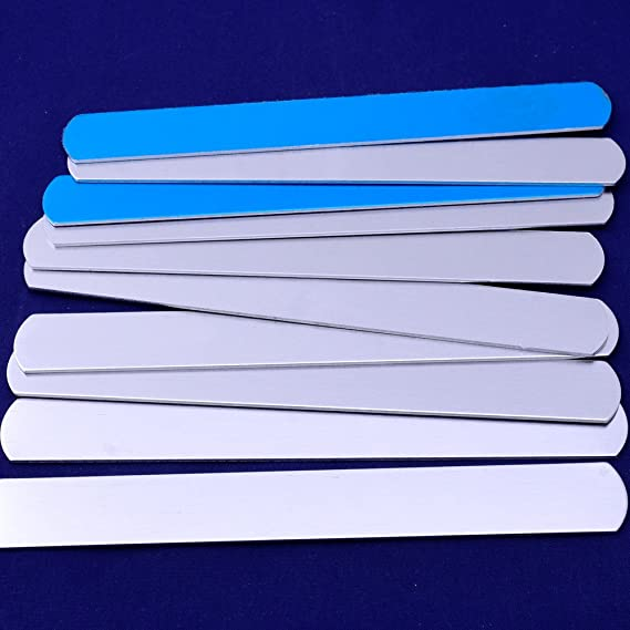 joyer/ía Making aluminum 152/x 9/mm tira etiquetas sellos en blanco Pulsera DIY Joyas etiquetas 5pcs tibetara sobre 6/x3//8