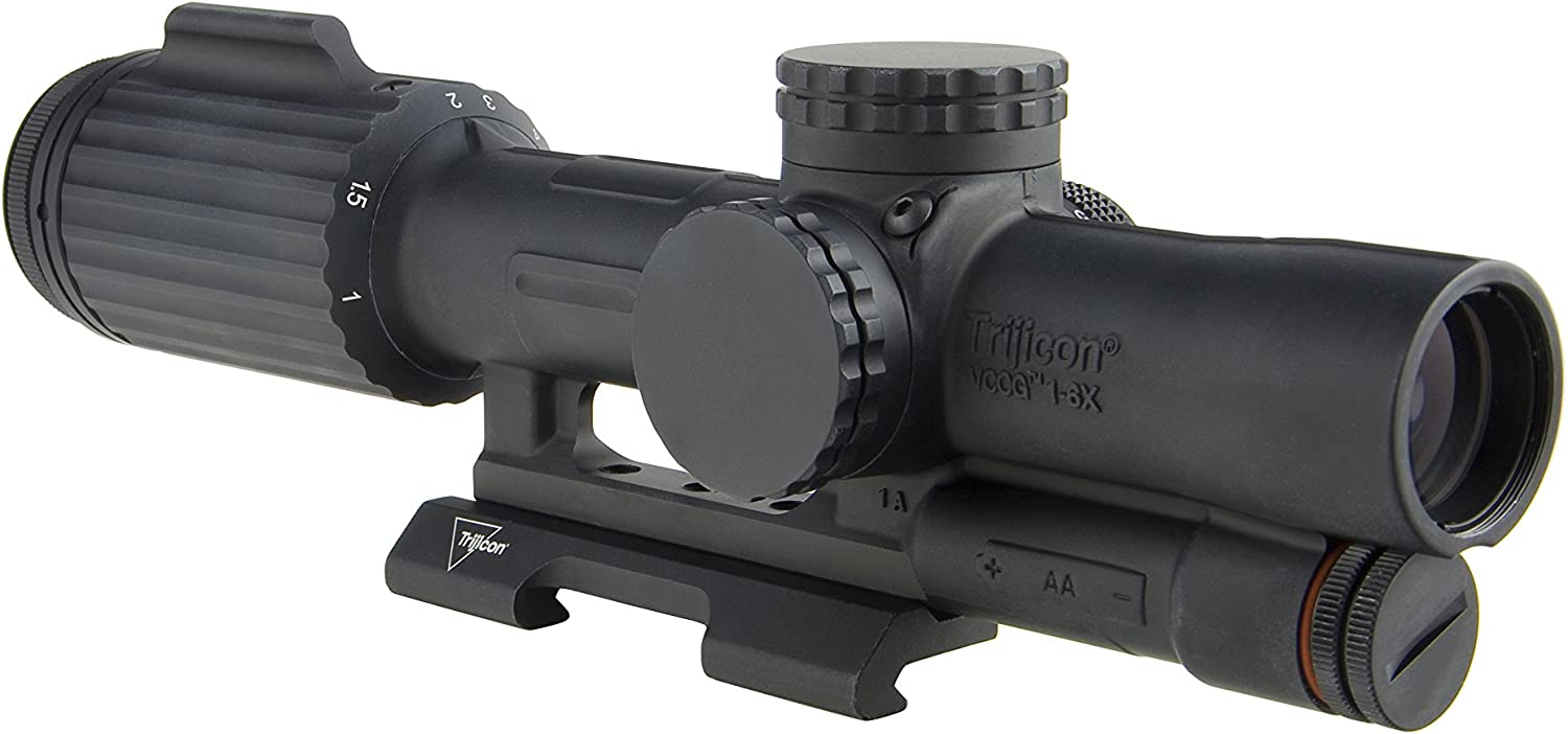 7. Trijicon 1-6x24mm VCOG Riflescope