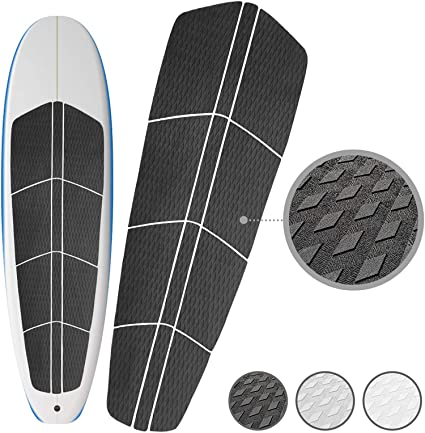 0938ac8b5e PUNT SURF Paddle Board SUP Traction Pad with 3M Adhesive - 12 Piece  Customizable Deck Grip for Any Size Paddleboard. Provides Ultimate Traction  and ...