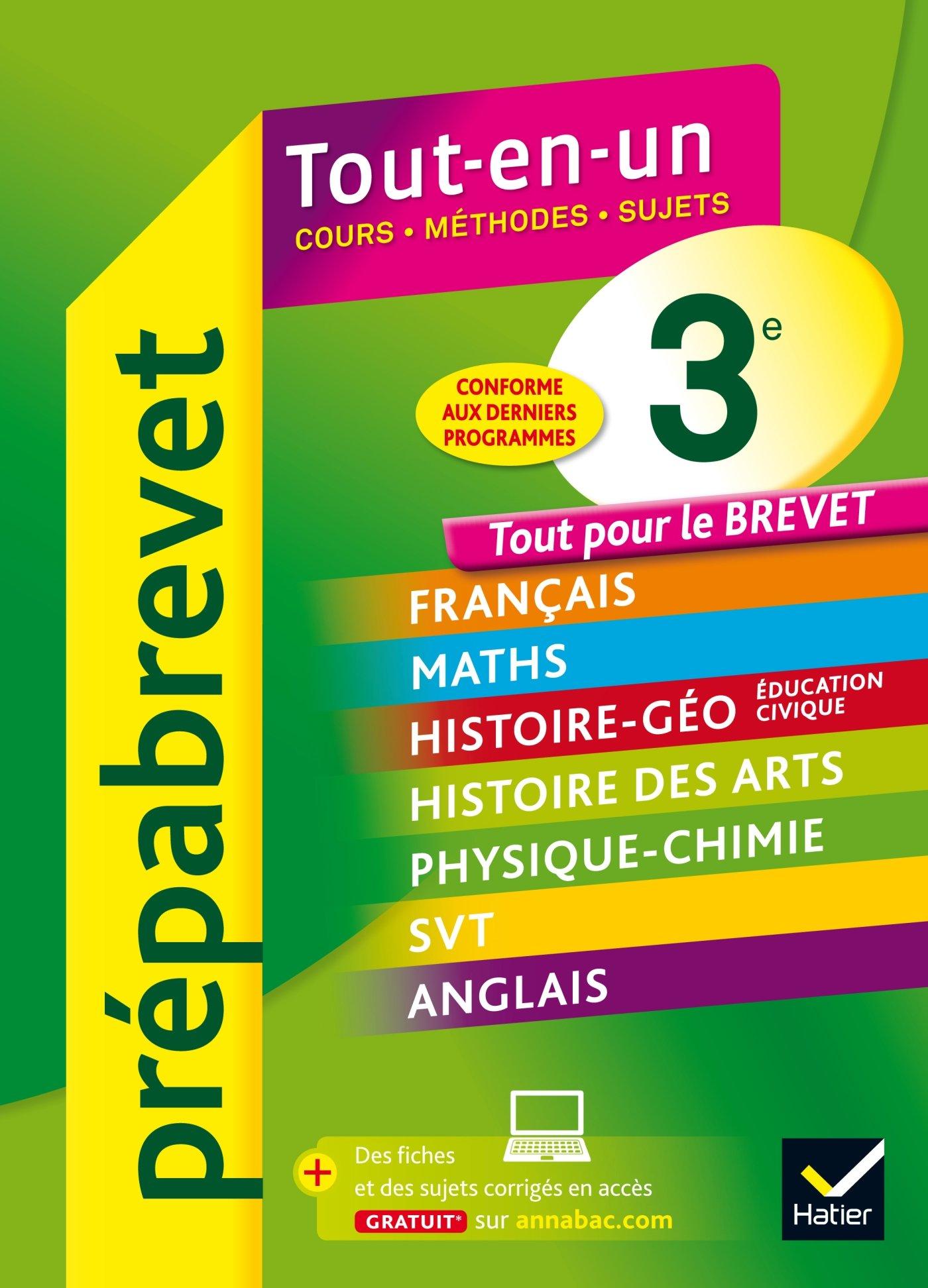 Prépabrevet Tout-en-un 3e: Tout pour réviser le Brevet: Amazon.es: Josep Cesaro, Jean-Pierre Gerbal, René Veillet, C.M. Chiocca, Françoise Ravez, ...