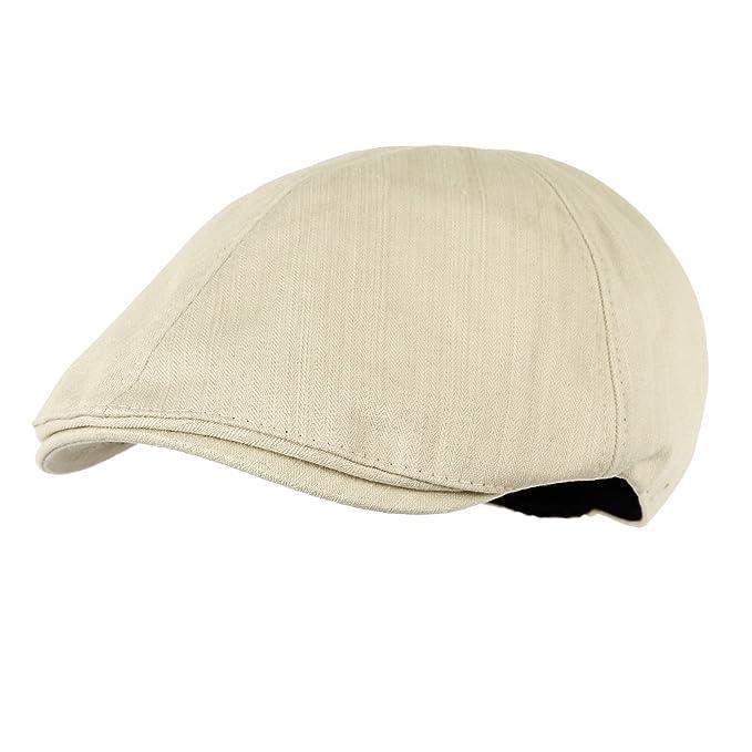 WITHMOONS Coppola Cappello Irish Gatsby Simple Newsboy Hat Flat Cap SL3026  (Ivory) 048fd670cb18