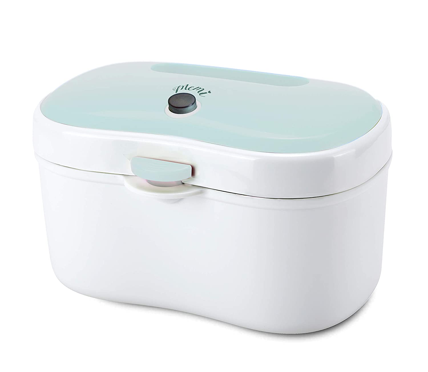 MEMI Green Wipe Warmer and Portable Wipe Holder | High Capacity | USB Charging | Baby Gift (GREEN) ELECTRIC APPLIANCES CO.