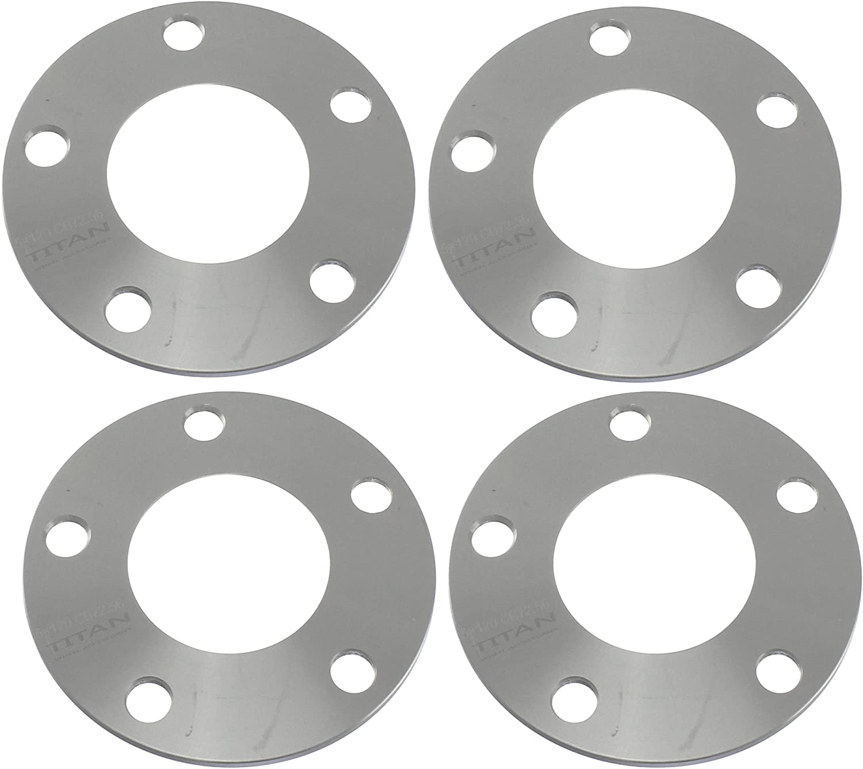 Wheel Slip On Spacers 10 mm 4x100 57.1 mm Hub Centric 2 PCS