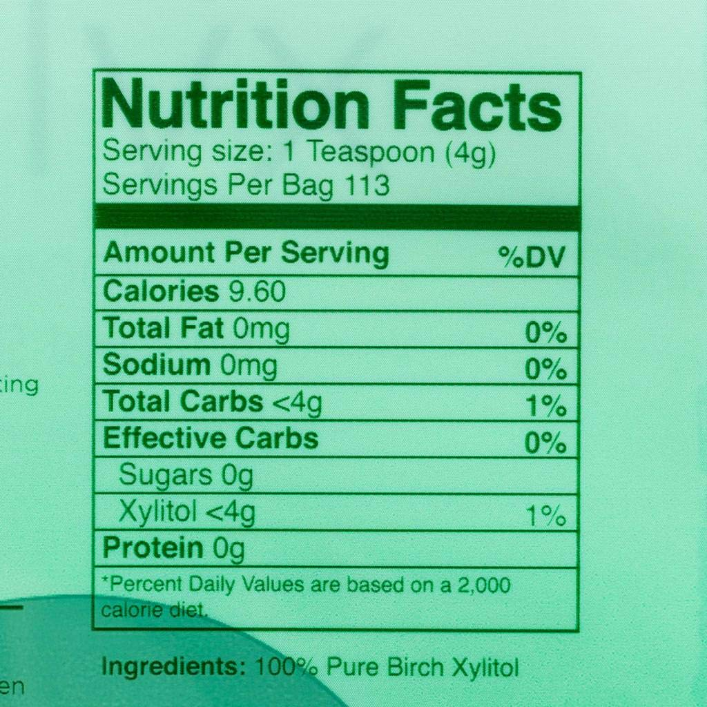 Morning Pep Pure Birch Xylitol (Keto Diet Friendly) Sweetener 1 LB (Not From Corn) NON GMO - KOSHER - GLUTEN FREE - PRODUCT OF USA. 16 OZ by Morning Pep (Image #3)