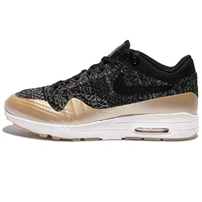 9c6bb19585aa Nike Womens Air Max 1 Ultra 2.0 FK Metallic Running Trainers 881195  Sneakers Shoes (UK