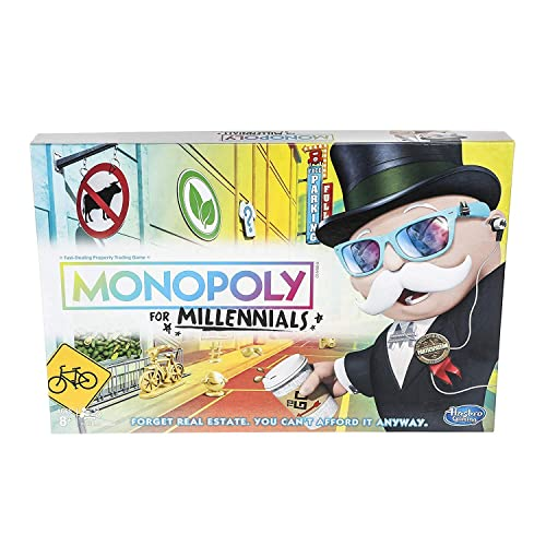 Monopoly for Millennials Board Game by Monopoly