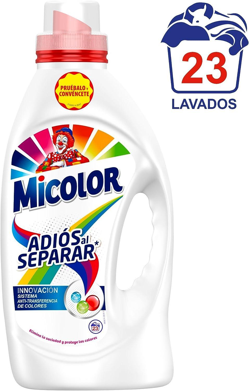Micolor Detergente Líquido Adiós al Separar - 23 Lavados (1.15 L ...