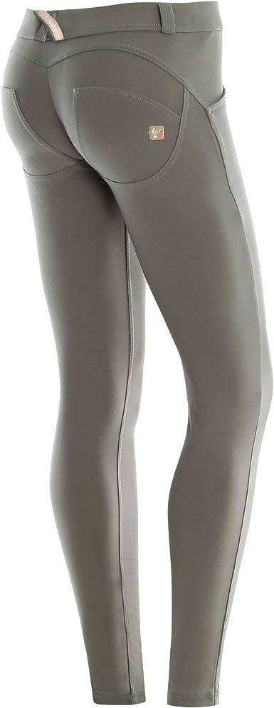 Freddy WR.UP® Shaping Effect Womens Pants High Rise Skinny Fit Denim Effect Grey