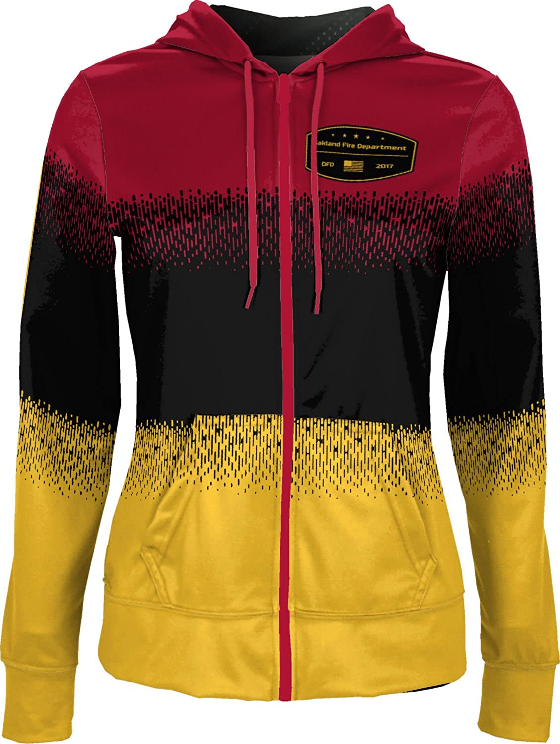 ProSphere Women's Oakland Fire Department Drip Fullzip Hoodie