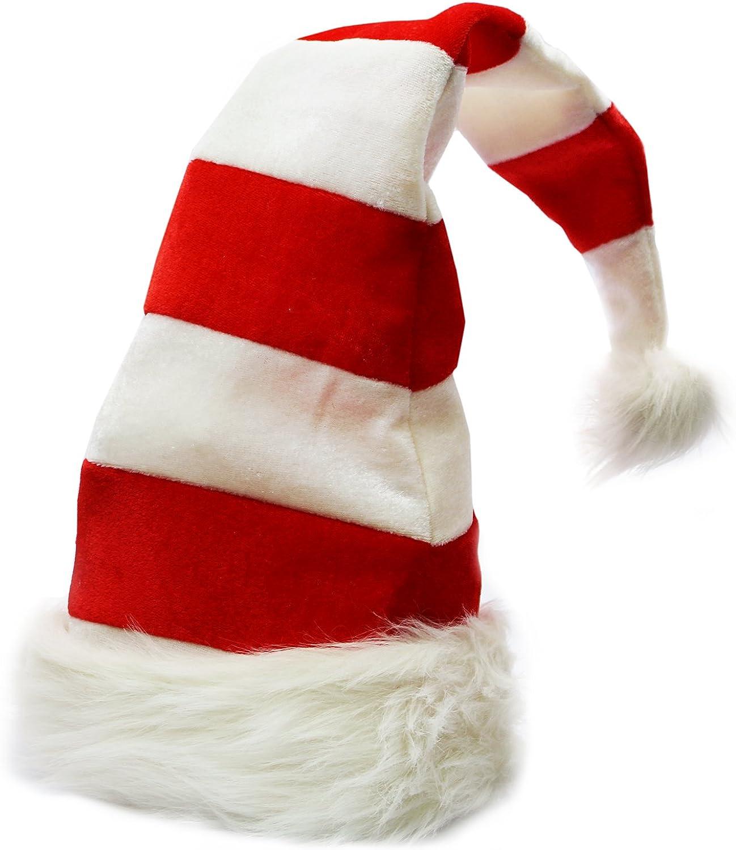 BSMEAN Sombrero de /árbol Gorro de Navidad Juguete el/éctrico Divertido para Cantar y Bailar Juguete el/éctrico de Navidad ni/ños Verde Cinco Estrellas