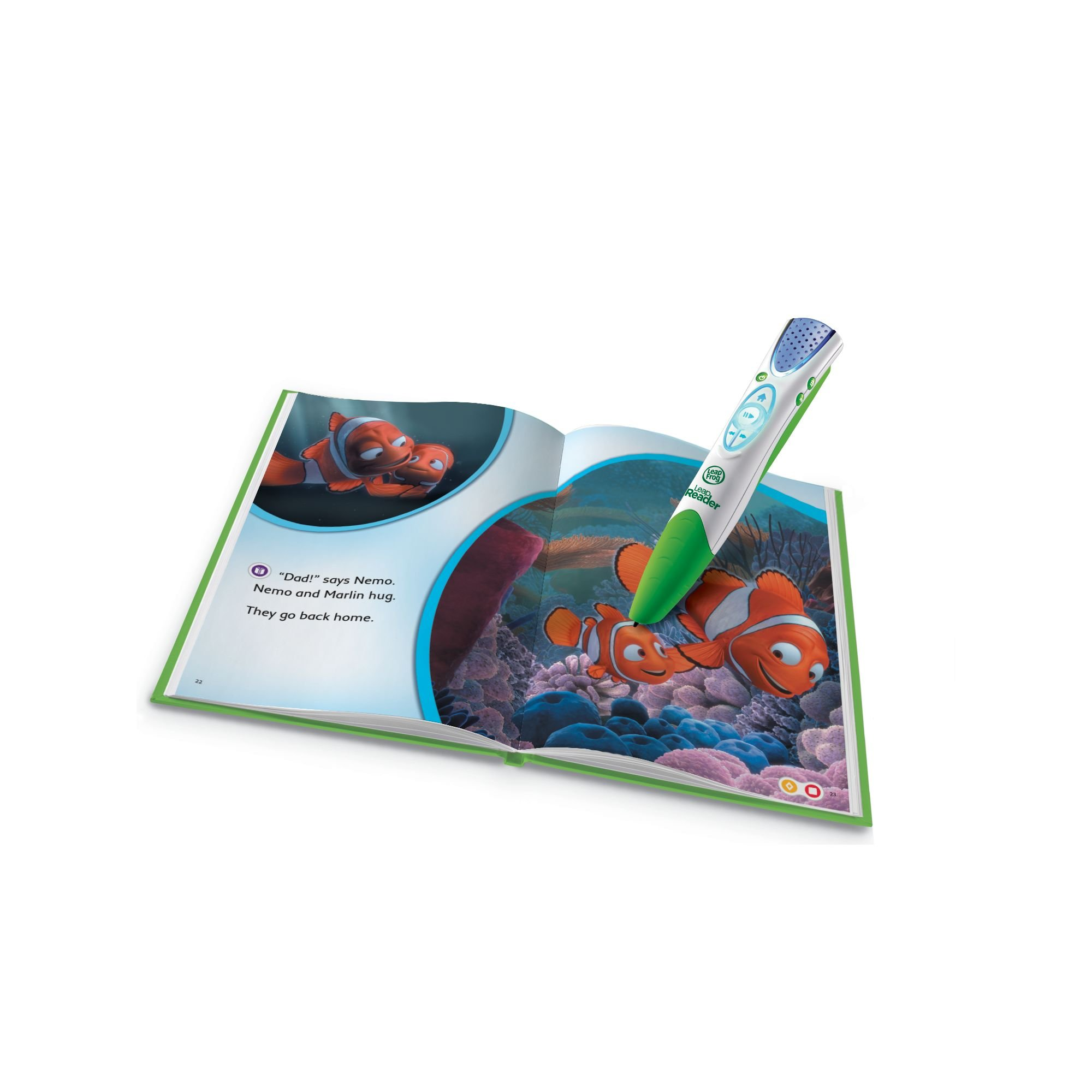LeapFrog LeapReader Book: Disney·Pixar Finding Nemo, Lost and Found (works with Tag) by LeapFrog (Image #2)