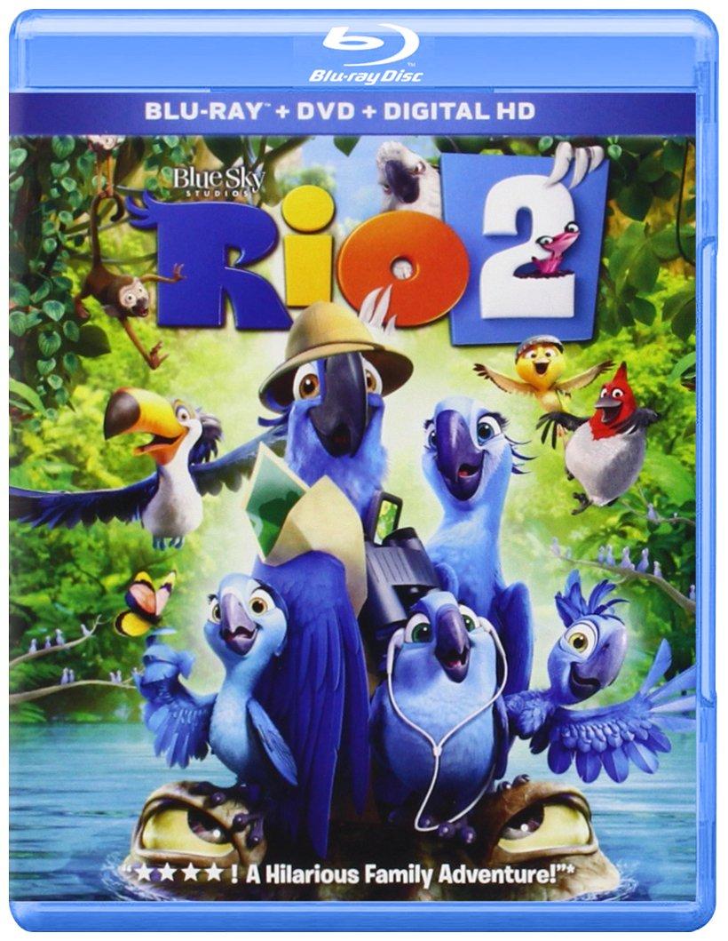 Amazon Com Rio 2 Blu Ray Jesse Eisenberg Anne Hathaway Jemaine Clement Carlos Saldanha Movies Tv