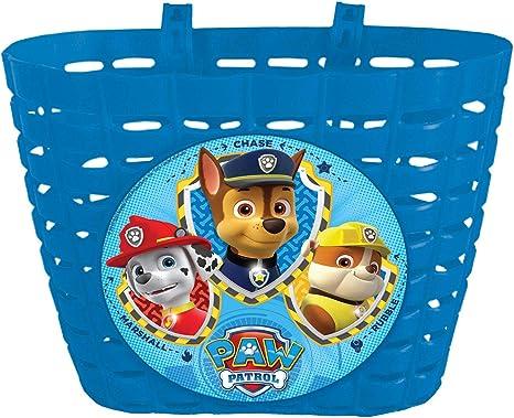 Paw Patrol 80173 – Accesorio Disney Cesta para Bicicleta Infantil ...