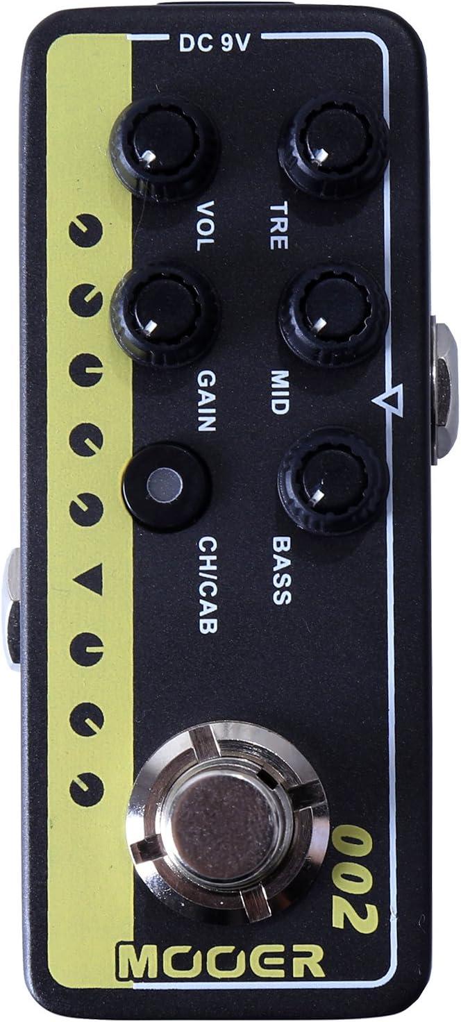 Mooer UK Gold 900 - Pedal de efectos para guitarra