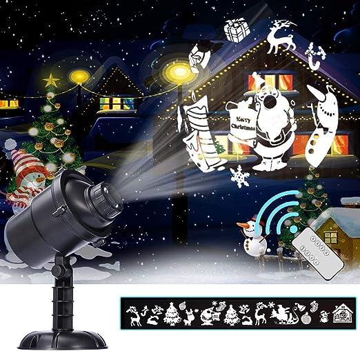 LED Proyector Luces Para Navidad, Luces De Proyectores De Anime 20 ...