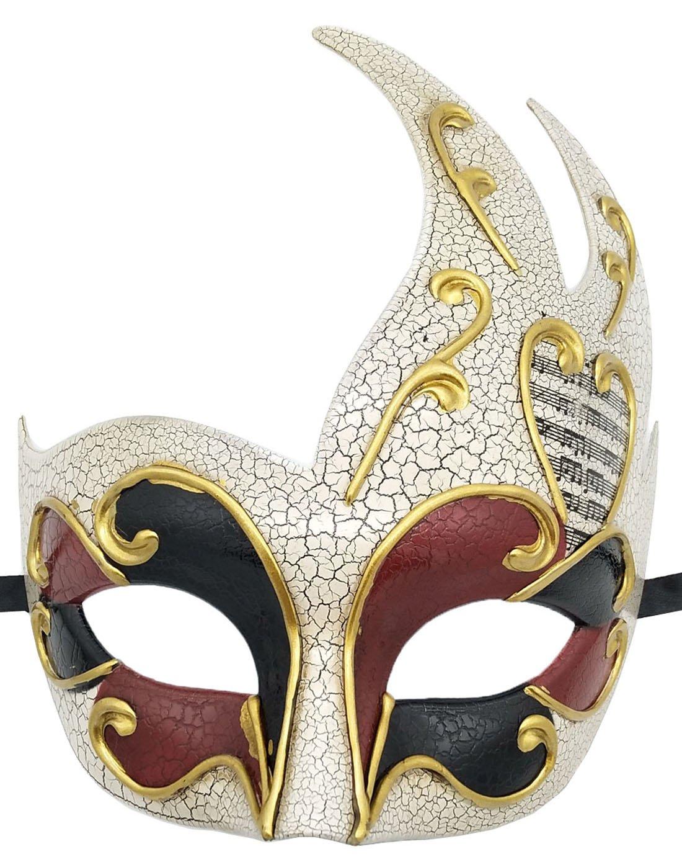 Azul Hombres Mascarada M/áscara Retro Agrietado Veneciano Fiesta M/áscara Halloween Mardi Gras M/áscara