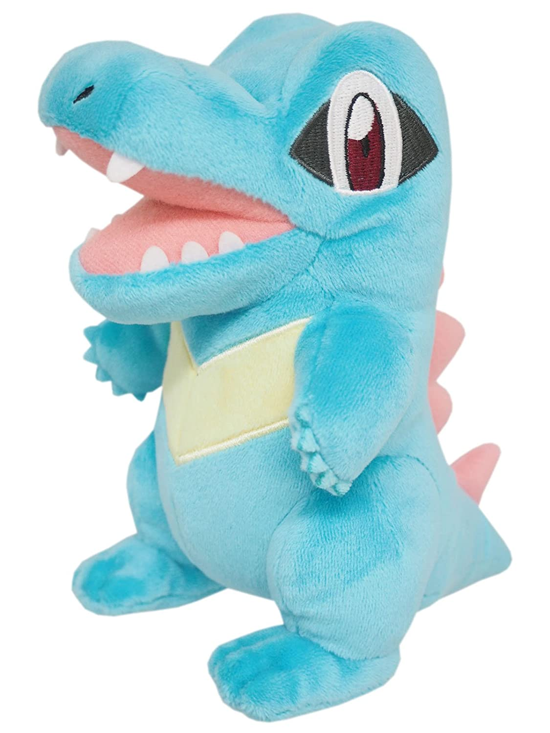 Sanei PP42 Pokemon All Star Collection, Totodile 6 Stuffed Plush JVG INC. - CA