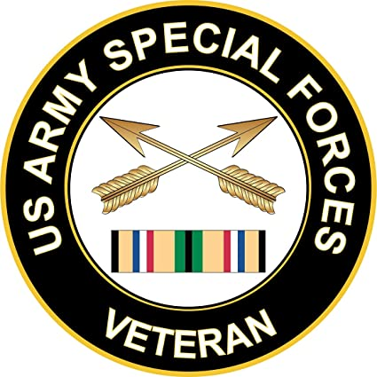 Amazon com: Military Vet Shop Magnet US Army Special Forces Gulf War